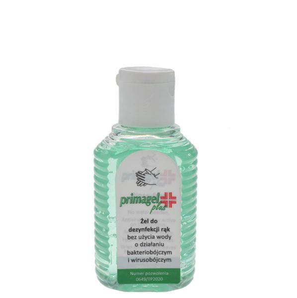 Primagel Plus kéz fertőtlenítő gél (50ml)