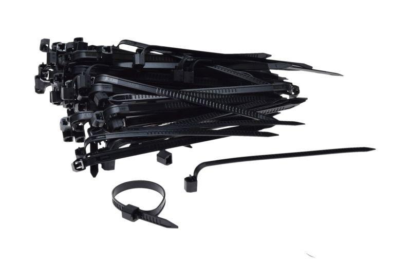 Gyorskötöző, 100db-os 5-25mm
