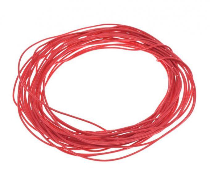 Kábel (0,5mm x 10m) PIROS