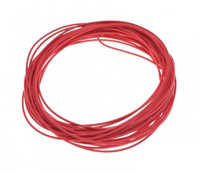 Kábel (0,75mm x 10m) PIROS