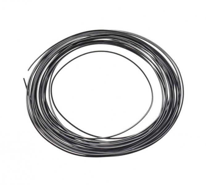 Kábel (0,75mm x 10m) FEKETE-FEHÉR