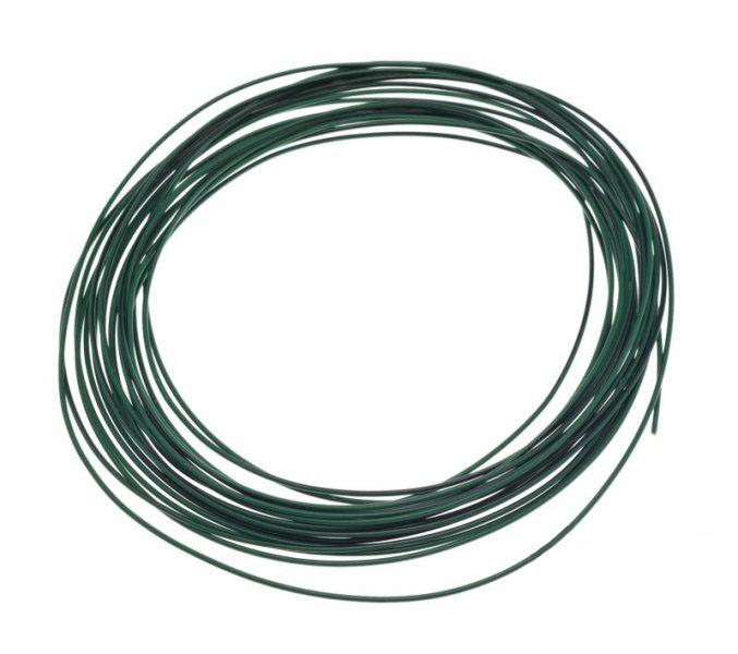 Kábel (0,75mm x 10m) ZÖLD-FEKETE