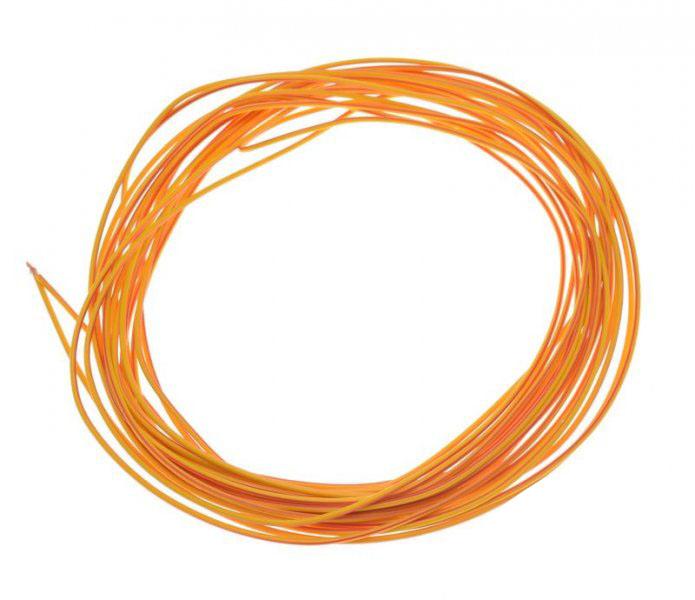 Kábel (1,00mm x 10m) PIROS-SÁRGA