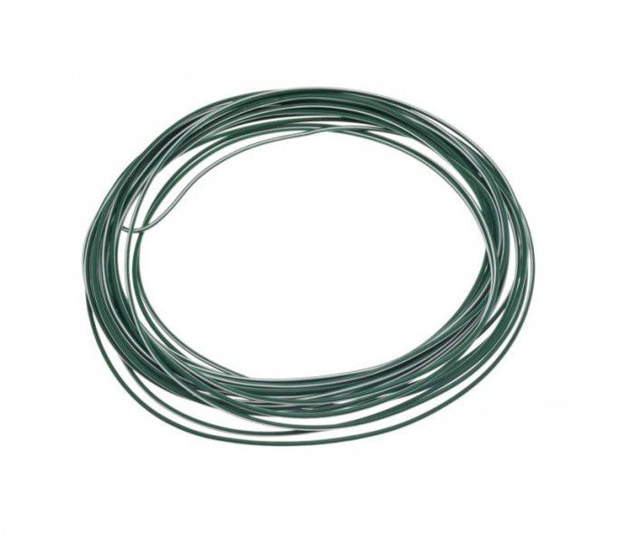 Kábel (1,00mm x 10m) ZÖLD-FEHÉR