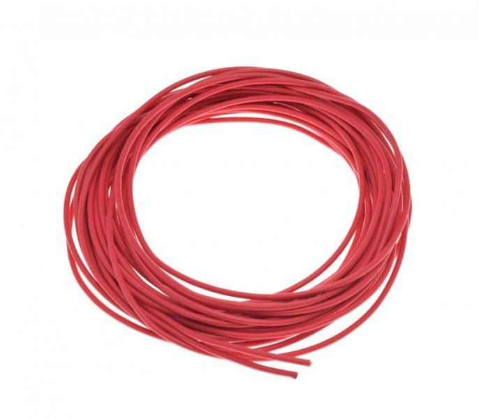 Kábel (2,00mm x 10m) PIROS