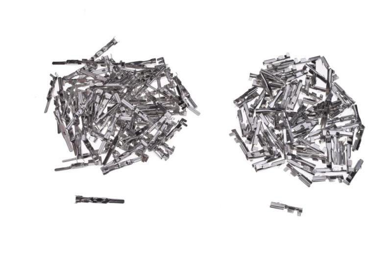 Kábel vég blokk csatlakozókhoz, Típus II, 100 db
