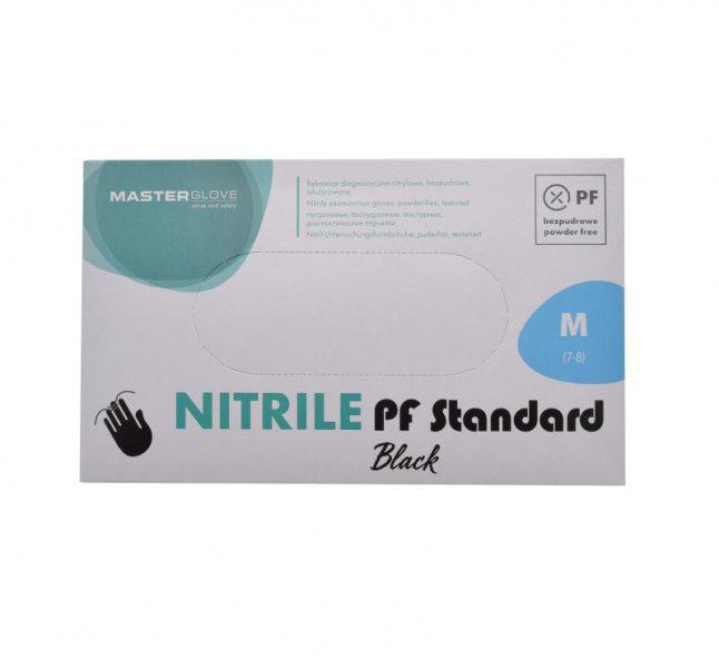 Nitril kesztyű 100 db M-es méret hintőpor mentes anti allergén KÉK