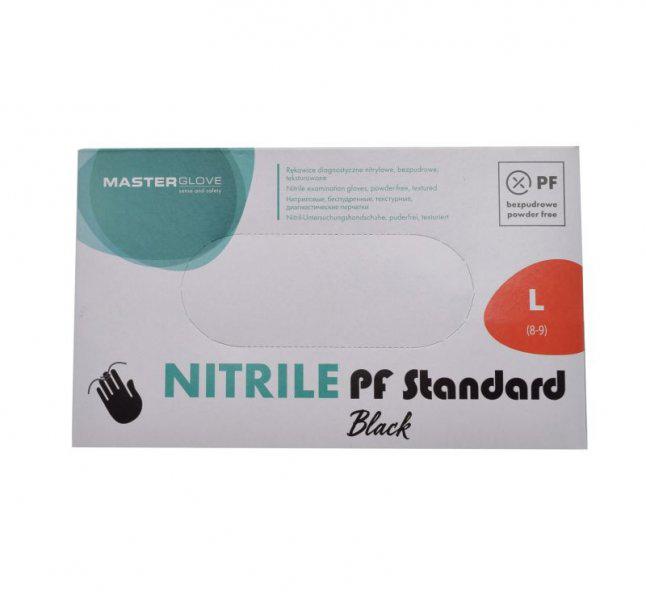 Nitril kesztyű 100 db L-es méret hintőpor mentes anti allergén KÉK