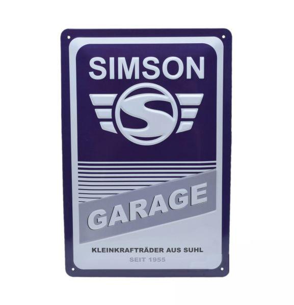 Tábla, SIMSON Garage