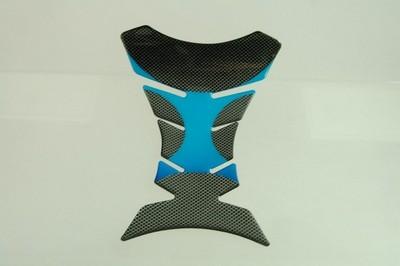 TANKPAD carbon mintás kék