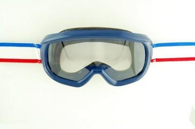 szemüveg motorozáshoz ENDURO kék