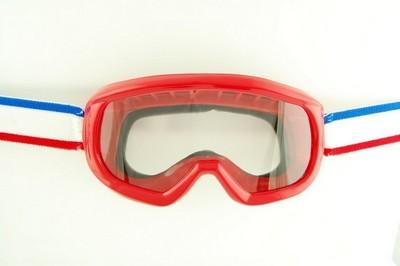 szemüveg motorozáshoz ENDURO piros
