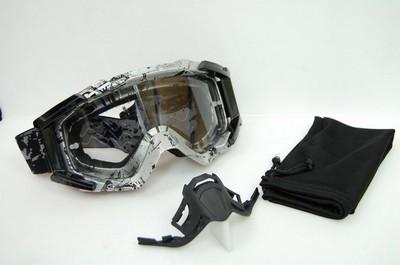 szemüveg motorozáshoz ENDURO LEOSHI NO.1 (B)