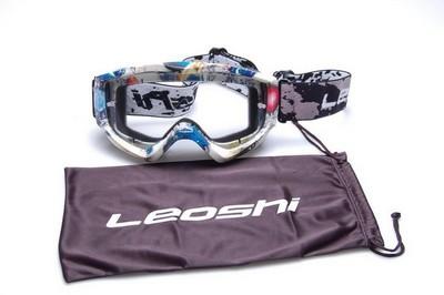 szemüveg motorozáshoz ENDURO LEOSHI NO.3 B