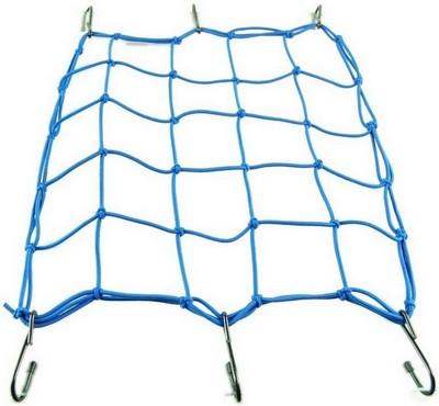 rögzítő háló sisak csomag beakasztós, kék