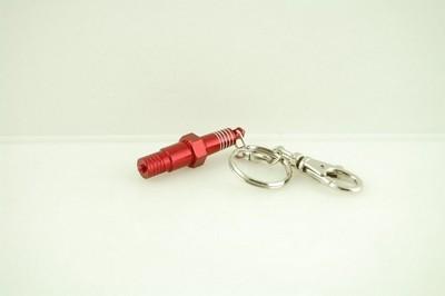 kulcs karika gyújtógyertya piros