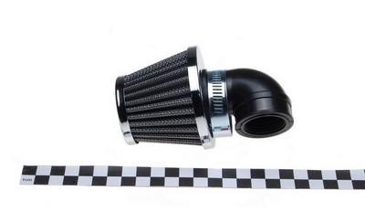 légszűrő sport KL102L3.kúp alakú, 90 króm