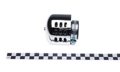légszűrő sport KM101M1 króm házas fém kicsi