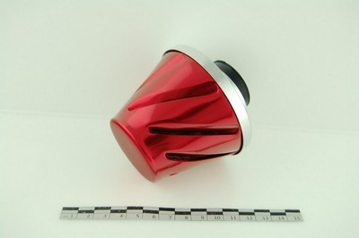 légszűrő fém ház/burkolat piros