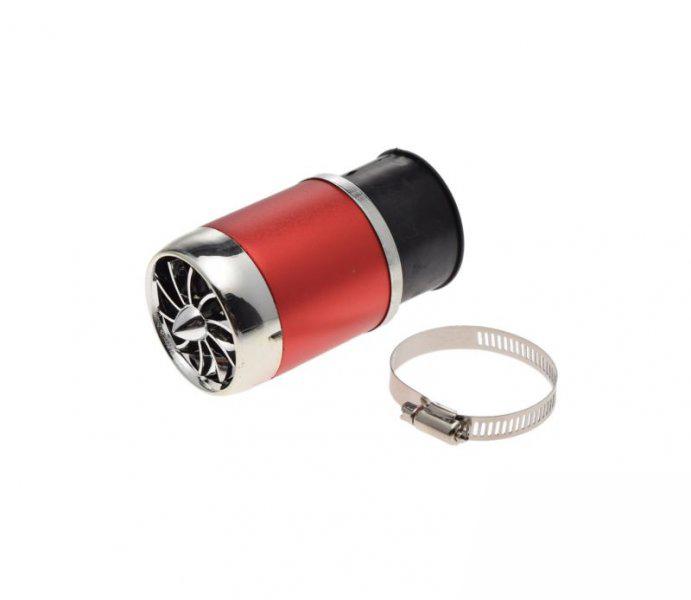 Légszűrő 48, 42, 35, 26 mm TUNING piros