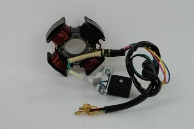 Generátor állórész-generátor 4 tekercs, 5 vezetékes ROMET Z-K50