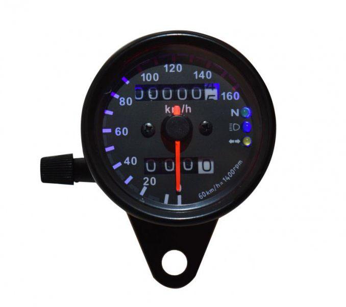 Univerzális sebességmérő, digitális