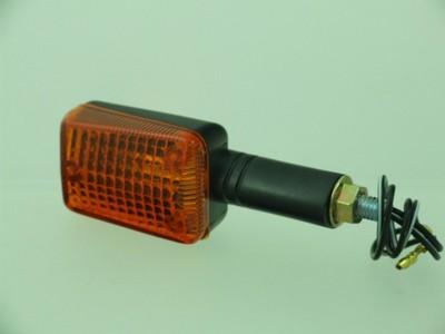 Index irányjelző lámpa MINI fekete, sárga, hosszú
