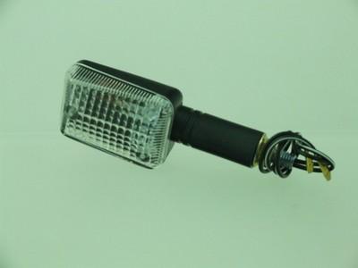 Index irányjelző lámpa MINI fekete, víztiszta, hosszú