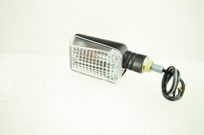 Index irányjelző lámpa MINI fekete, víztiszta, rövid