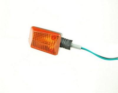 Index irányjelző lámpa MINI, víztiszta, sárga, hosszú