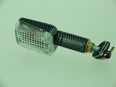 Index irányjelző lámpa MINI CARBON-LOOK, víztiszta, hosszú