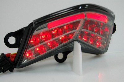 hátsó lámpa, LED, EU szabványos, KAWASAKI ZX-10R 04-05