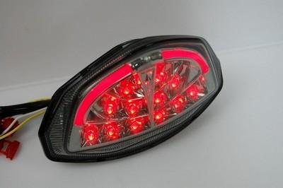 hátsó lámpa, LED, EU szabványos, SUZUKI GSX-R1000