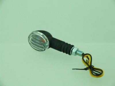 Index irányjelző lámpa, ovális víztiszta búrás,