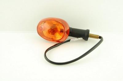 Index irányjelző lámpa, sárga búrás, pár