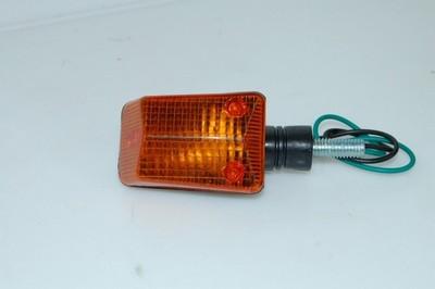 Index irányjelző lámpa, MINI, fekete, sárga búrás CN