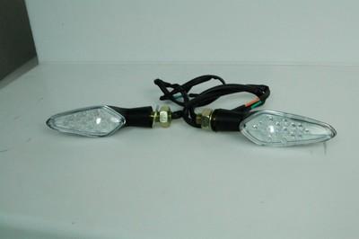 Index irányjelző lámpa, víztiszta búrás, LED 12V 1W CN, pár