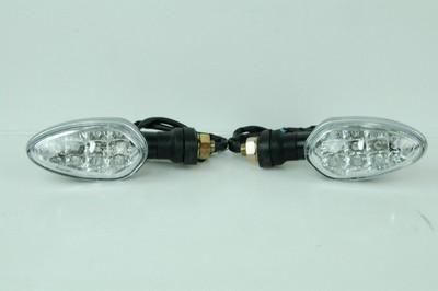 Index irányjelző lámpa, víztiszta búrás, LED 12V 1.4W CN, pár