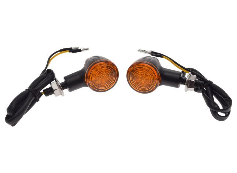 lámpa, első irányjelző, led, 2db-os szett (sárga)