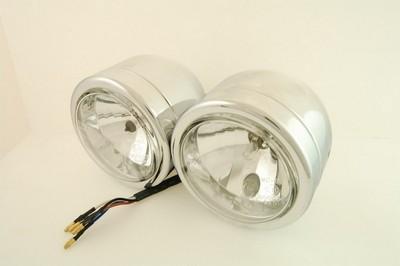 fényszóró első dupla H7+H1 EU szabványos 110mm