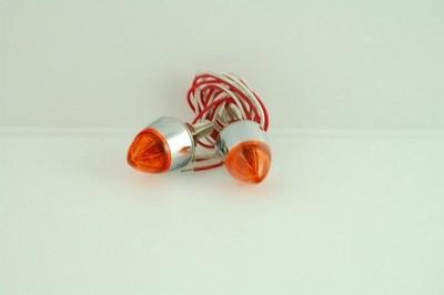 csavar, Rendszámtábla rögzítő narancs fényszóró