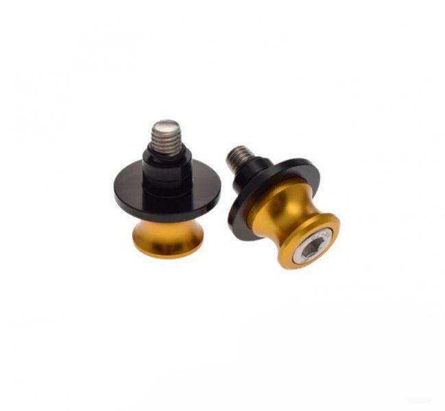 Lengővilla emelő csavar M10x1,5 arany (bobbin)