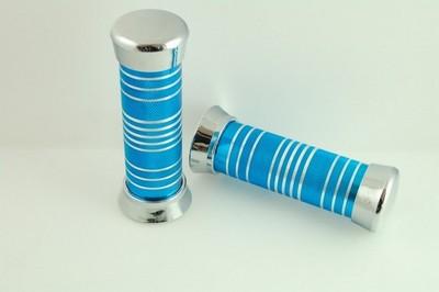 markolat, kormányrúd fém ENGRAVED kék