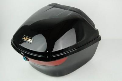 hátsó doboz, motor robogó fekete 33X31X25cm