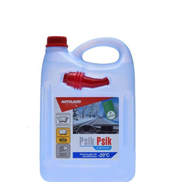PSIK-PSIK, téli ablakmosó folyadék -20C 4L