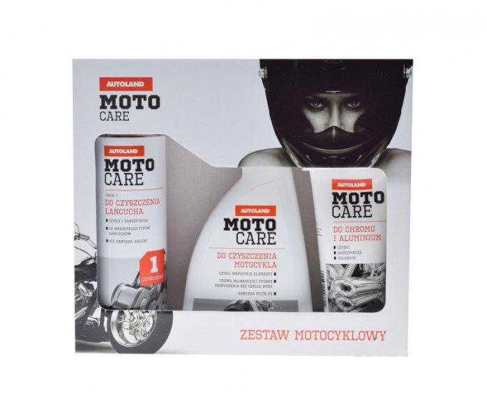 Autoland Moto Care motor ápoló szett (matt effekt)