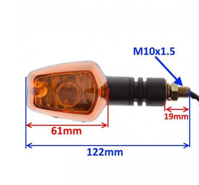 Index irányjelző lámpa (jobb első) CPI QM125-2D 125