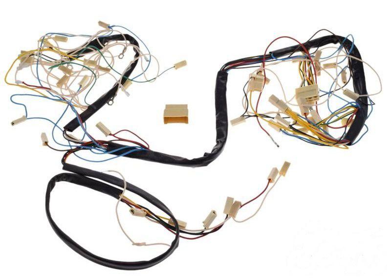 Kábel köteg, Jawa 350