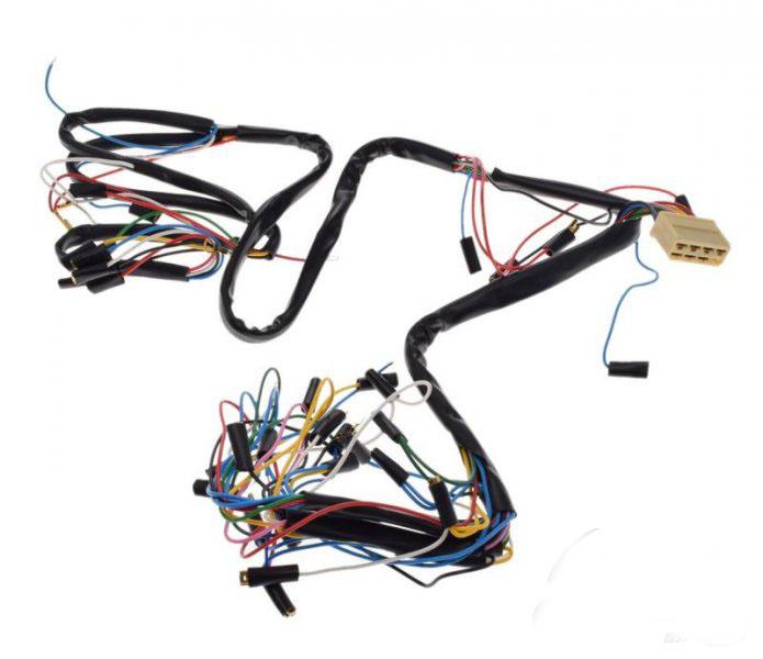 Kábel köteg, Jawa 350 6V