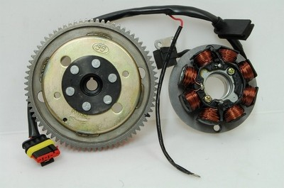 generátor komplett, generátor állórész+generátor forgórész AM6
